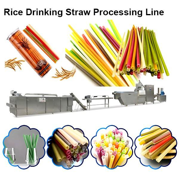 Automatic biodegradable plastic drinking straw extruder for PLA drinking straw #1 image