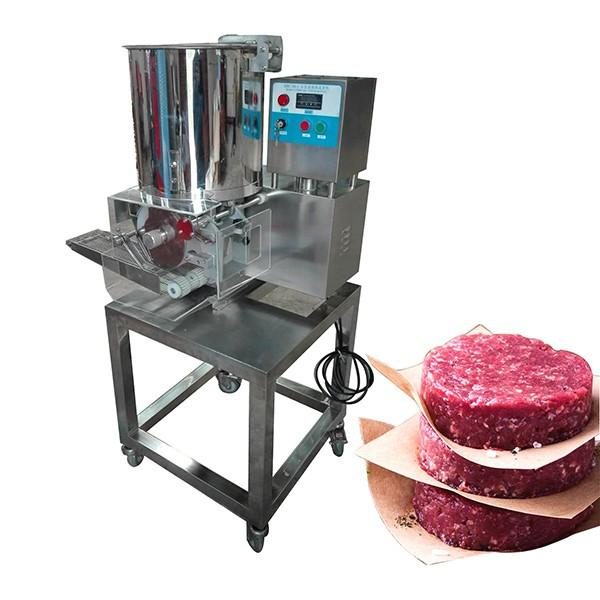 Chicken Pops Forming Machine/Meat Pie Machine/Commercial Automatic Hamburger Patty Machine with Competitive Price #1 image