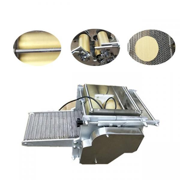 500mm Diameter Commercial Pancake Roti Tortilla Bread Press Machine #1 image