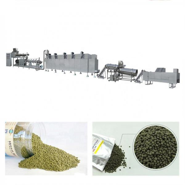 Floating Animal Pet Dog Cat Fish Fish Feed Pellet Production Machine Aquarium Soybean Protein Snack Food Mill Pellet Processing Making Extrusion Line Price #1 image