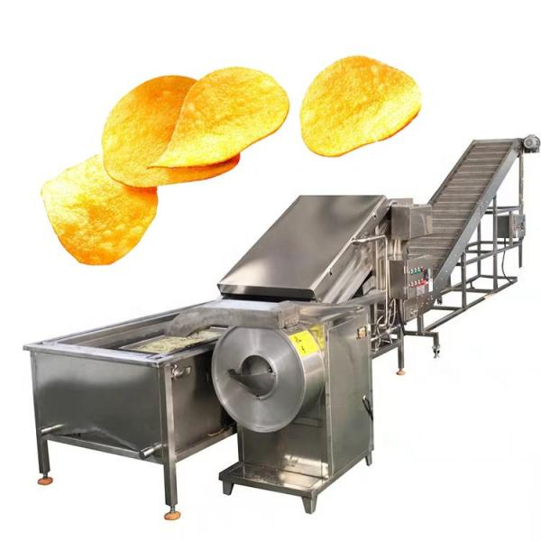 Potato Carrot Cutting Machine French Fries Ginger Slicer Ginger Chips Cutting Machine #2 image